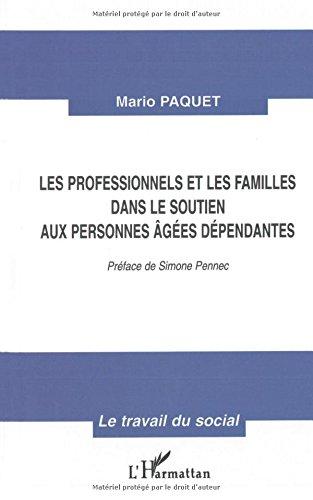 Professionnels et les familles dans le soutien aux per