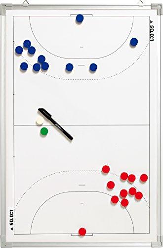 Select Aluminium Handball Taktiktafel, Weiß, 90 x 60 cm