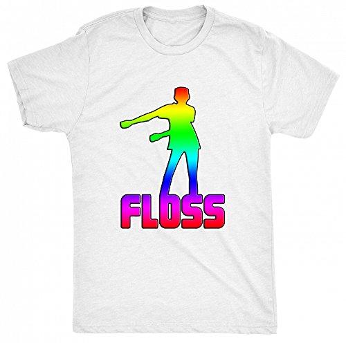 8TN Floss Dance Unisex - Kinder T Shirt - Weiß - 9-10 Jahre (Dance Team-t-shirts)