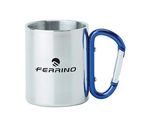 Ferrino Inox Moschettone Tazza, Alluminio, 7 cm
