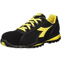 Diadora - Glove Ii Text S1p Hro, zapatos de trabajo Unisex adulto, Negro (Nero), 41 EU