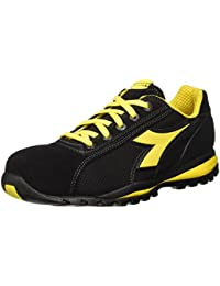 Diadora - Glove Ii Text S1p Hro, zapatos de trabajo Unisex adulto, Negro (Nero), 48 EU