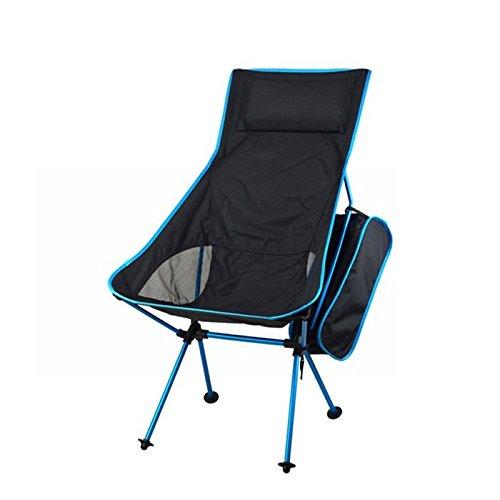 Bazaar Plein air léger portable pliante chaise de pêche camping chaise tabouret confortable pochette