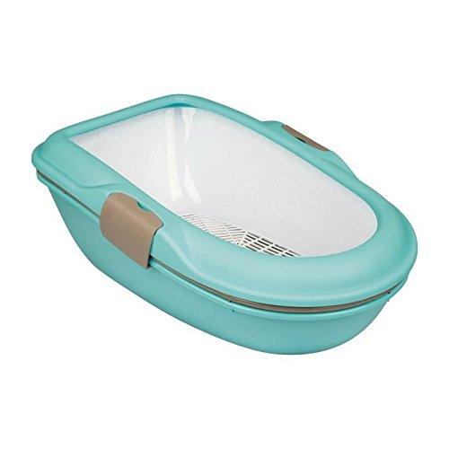 Trixie Berto higiénico Aislamiento Gato Azul Claro/Taupe/Granito