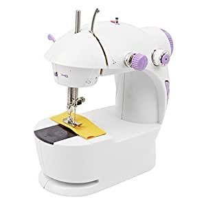 Gopani Mini 4 in 1 Desktop Sewing Machines for Home Multi Functional Electric Household Sewing Machine(Sewing Machines for Home, Sewing Machine for Home Mini)