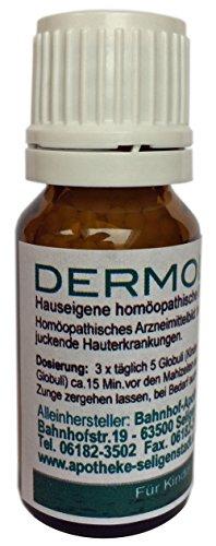 Dermolind Globuli - 10 g - Haut - klassische Homöopathie aus deutscher Traditionsapotheke