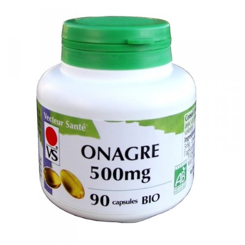 huile d'onagre 500mg - 90 capsules