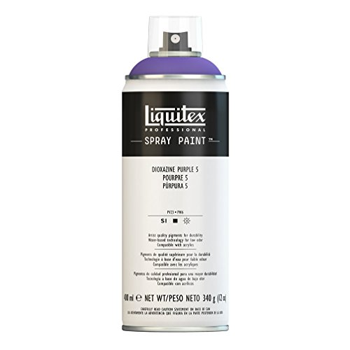 Liquitex Professional - Acrílico en spray, 400ml, purpura dioxacina 5