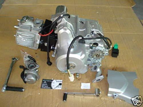 HMParts 4-Gang Motor Set 110ccm 1N234 E-Starter Oben & Kickstarter Pitbike Monkey -