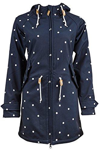 derbe Island Friese Dots Softshelljacke Damen - 46