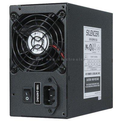 OCZ Silencer 610W + 12V @ 49a Single Rail SLI Certified 83% Efficiency 40C Spec Alimentazione per PC
