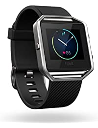 Fitbit Blaze Smart Fitness Watch, Large (Black)