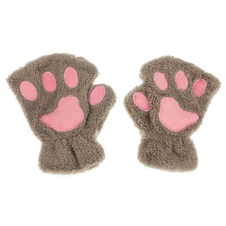 Guanti a forma di zampe di gatto