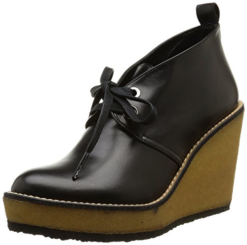 Robert Clergerie Aroa, Chaussures de ville femme Noir (Veau Lisse Noir)