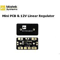 easyshop Matek mini scheda di distribuzione dell'alimentazione PDB con regolatore di tensione lineare 12v per FPV multicopter