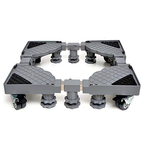 Basis-sortiment (ANNA Multifunktionswagen Multifunktionswaschanlage Basis Zwölf Füße Vier Paare Von Bremsen Volles Sortiment Von Roller Kühlschrank Stent Waschmaschinensockel)