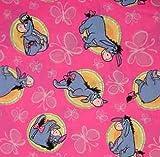 WINNIE THE POOH Eeyore Pink - HALF YARD /18 x 44 - SC068 -