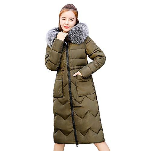 SANFASHION Bekleidung - Abrigo - Casual - para Mujer Armeegrün 40 EU Large 54778c186ce4