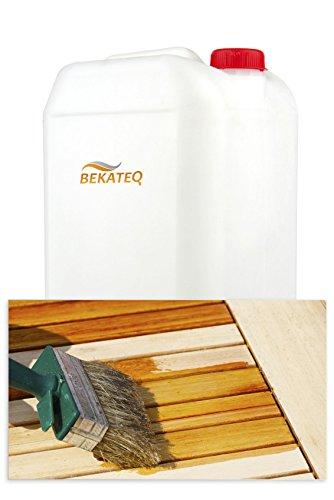 5L Leinölfirnis Holzpflegeöl nach DIN 55932 schnelle Trocknung für Holz, Parkett, Dielen, Türen, Möbel Leinöl Firnis Holzschutzmittel Holzöl für Innen & Aussen -