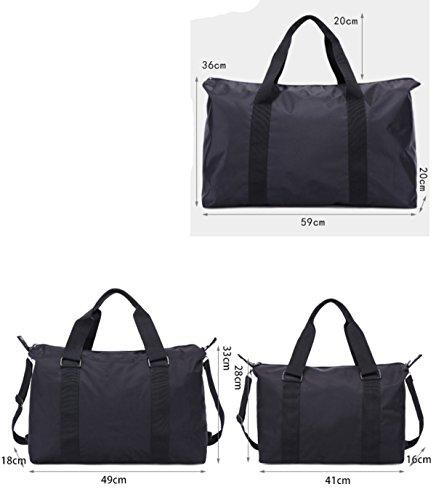 LAIDAYE Mobile Tasche Schultertasche Mit Großer Kapazität Geschäftsreisen Fitness-Kit Sporttasche Fitnesstasche Große Kapazität Handtasche 1