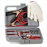 Automobile Emergency Kit Best Deals - Auto Automobile Car Emergency Tool Kit Jumper Cables by Furniture Creations