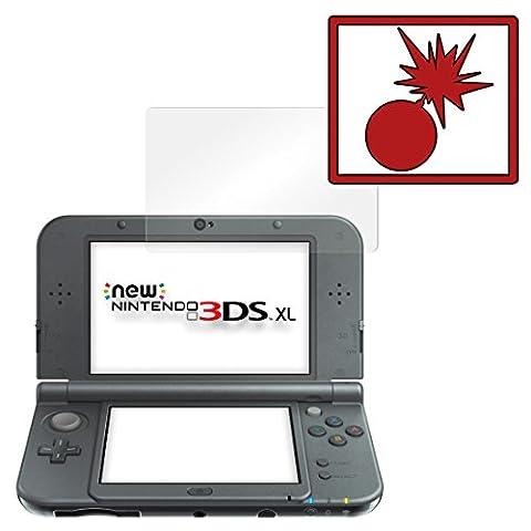 2 x Slabo Panzerschutzfolie New Nintendo 3DS XL Panzerfolie Displayschutzfolie Schutzfolie Folie