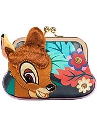 Disney Bambi Damen Geldbeutel Geldbörse Clutch Pochette