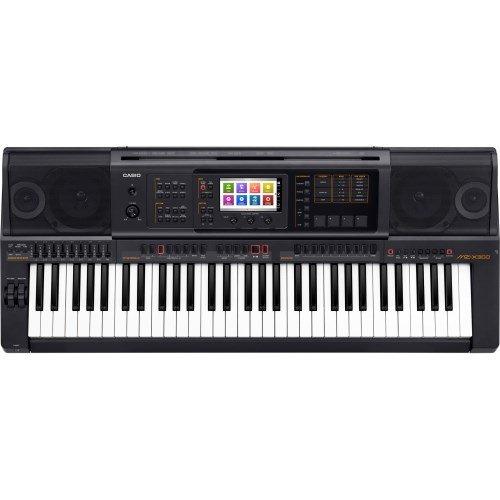 Casio MZ-X300 - Teclado MIDI (Botones, Tocar, Corriente alterna, Corriente alterna, LCD, USB)