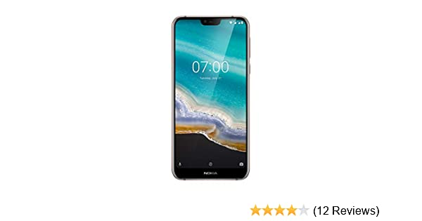 Nokia 7 1 5 8-Inch Android One UK SIM-Free Smartphone with 3GB RAM and 32GB  Storage (Single Sim) - Steel