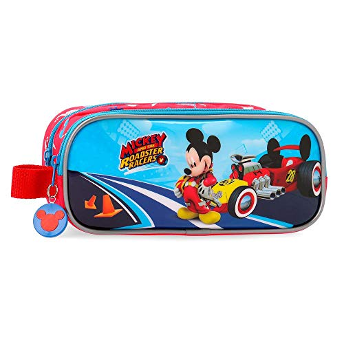 Disney Lets Roll Mickey Beauty Case da viaggio 23 centimeters 1.45 Multicolore (Multicolor)