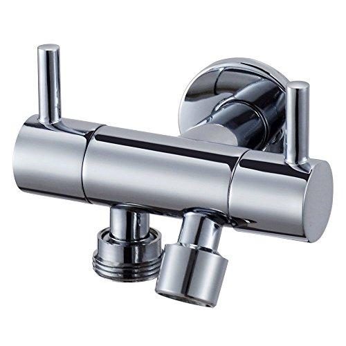 SYW Alle Kupfer Triangulation ventil Distributor, Doppelten Zweck Outlet mit Drei - Punkt - Winkel - ventil, Waschmaschine, Garten Wasserhahn Tap g1/2 - Zoll - g3/4 inch,Eine Ebene 16 Punkte (Outlet-ebene)