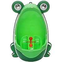 Con diseño de los niños diseño de rana sobre seta para hacer sus necesidades de seguridad para inodoro de deporte para hombre mingitorio de traje infantil unisex sin mangas orinar bloques de entrenamiento para bicicleta puerta de cuarto de baño