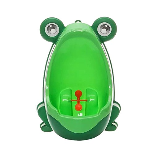 Cute Frog Children Potty Toilet Training Kids Urinal for Boys Pee Trainer Bathroom (Green) by hjuns