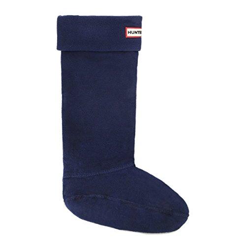 New Hunter Fleece Welly Socks - Navy - XL (Hunter Welly Socks Fleece)