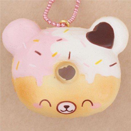 squishy-perfumado-lindo-donut-mini-cara-de-oso-cobertura-blanca-rosa