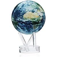 Flyci Light Spin A Globe Maglev Office Study Artículos de decoración de Regalos creativos Imágenes de la Nube satelital Globo con sombreado Antiguo