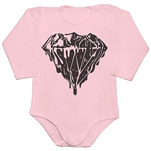 Fancy Liquid Diamond Baby Romper Long Sleeve Bodysuit