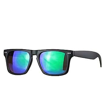 caripe Wayfarer Sonnenbrille Nerd Brille - viele Farben - W-g (Muster 8)