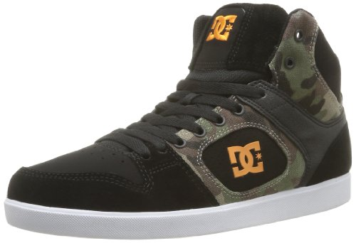 DC Union Hi, Sneakers Basses Homme Grün (CAMO BLACK)