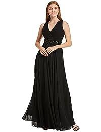 Selighting Vestido Elegante de Boda Fiesta Cóctel para Mujer Dama de Honor Vestido Largo (32