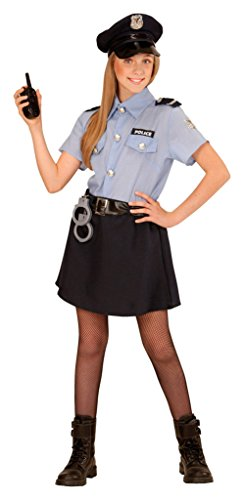 (Widmann 04006 Kinderkostüm Polizei, 128)