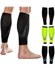 ea9e4533f7 NV Compression Race And Recover Fasce di Compressione per Polpacci - Nero -  Calf Guards/