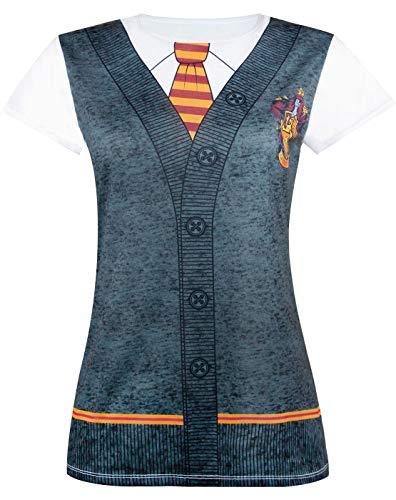 HARRY POTTER Gryffindor Costume Womens/Damen T-Shirt S-XXXL