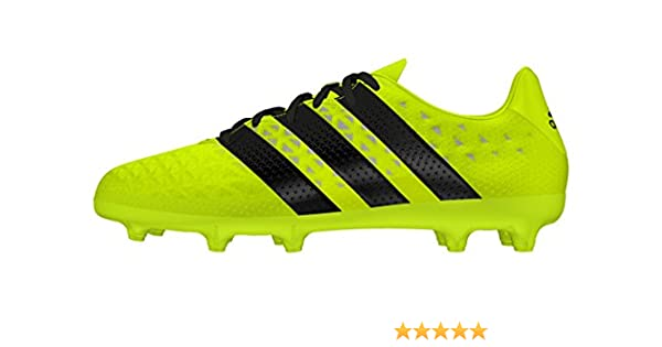 adidas Jungen Ace 16.3 Primemesh FG/AG J Fußballschuhe, Gelb (Amasol/Negbas/Plamet), 38 EU