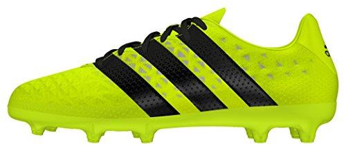 adidas Ace 16.3 Fg J, Chaussures de Football Garçon Jaune - Amarillo (Amasol / Negbas / Plamet)