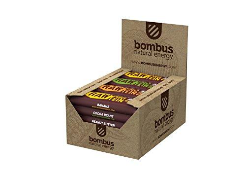 Bombus Rohkostriegel Raw Protein -Kakaobohnen-, 20x 50g