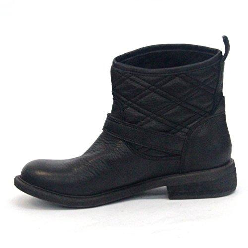 Lucky Brand Cheville Bottes, Taille UK 3,5-New Arrival Noir - noir