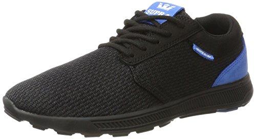 Supra Herren Hammer Run Sneaker, Schwarz (Black- Royal), 43 EU