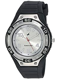 Fastrack Essentials Analog Silver Dial Men's Watch-NJ9333PP01C