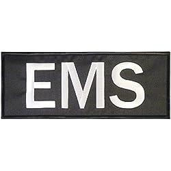 EMS EMT Large XL 10x4 inch MEDIC Sanitäter Paramedic Taktisch Tactical Stickerei Nylon Touch Fastener Aufnäher Patch